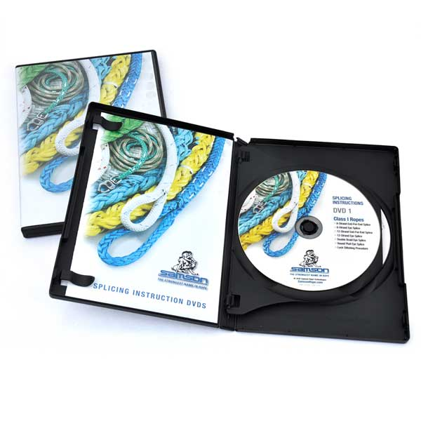 Samson Splicing DVD Set